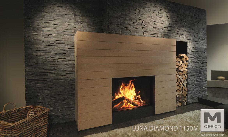 chemin e gaz m design luna 1300rd aubry d coration. Black Bedroom Furniture Sets. Home Design Ideas
