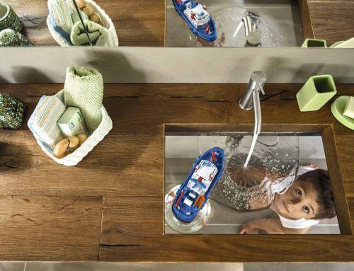La transparence LAGO dans votre salle de bains!