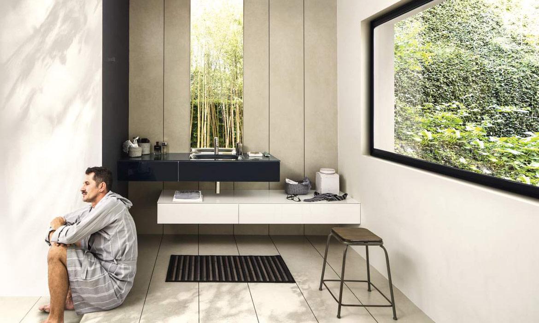 salle de bain homme homeezy. Black Bedroom Furniture Sets. Home Design Ideas