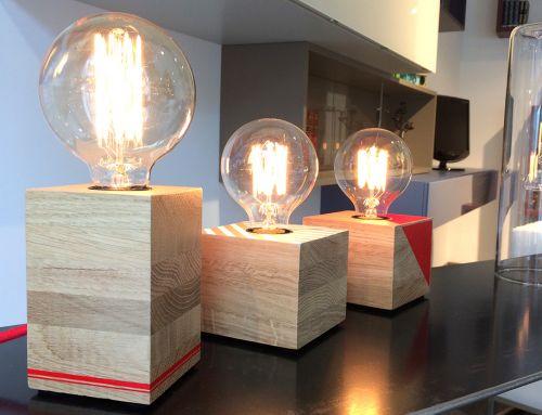 Lampe bois à poser avec ampoule filament – FOX PERRY