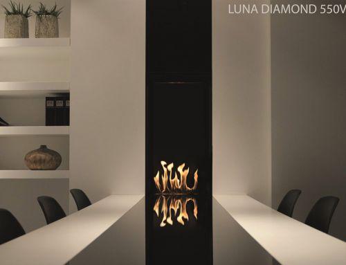 Cheminée gaz verticale – Luna 550V