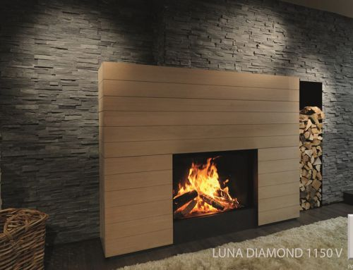 Cheminée bois – Luna 1150V