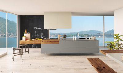 cuisine-bois-verre-gris-vert
