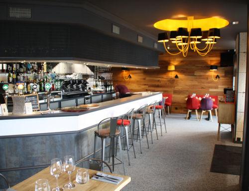 Dernière réalisation : restaurant L'Ardoise à Lamballe